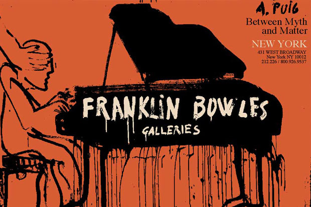 Agustí Puig exhibition at Franklin Bowles Galleries,  New York 2015/11/14