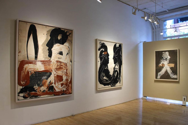 Agustí Puig at Franklin Bowles Galleries in New York. November 2015.